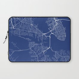Charleston Map, USA - Map  Laptop Sleeve
