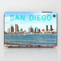 san diego iPad Cases featuring San Diego  by Natasha Alexandra Englehardt