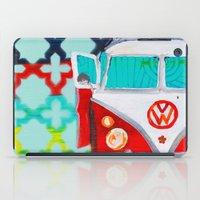 vw iPad Cases featuring VW by Drica Lobo Art