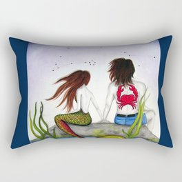 Pisces / Cancer Couple Rectangular Pillow