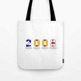 2008 - NAVY - My Year of Birth Tote Bag