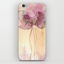 Fragrance - Abstract Flowers Watercolour iPhone Skin