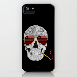 GONZO SKULL iPhone Case