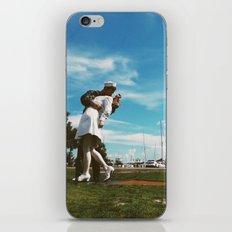 Summertime Kiss iPhone & iPod Skin