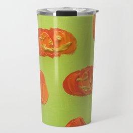 Floating Jacks (Green) Travel Mug