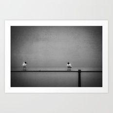 so... now that I got you alone, how about...  Art Print