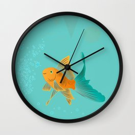 Approaching Dusk - Under The Sea Wall Clock