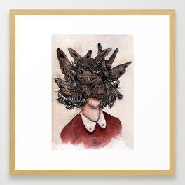 Odorata Framed Art Print