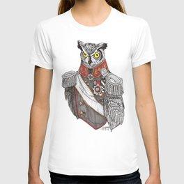 General Owlington T-shirt