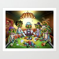 The House Cleaner Art Print