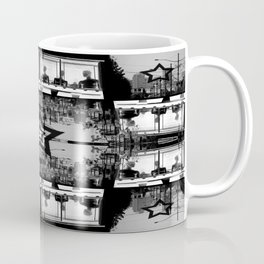 Masking The Inhuman Populace Coffee Mug