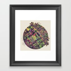 Green Garden Framed Art Print
