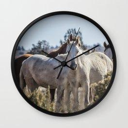 Traveler and His Bachelor Band Wall Clock