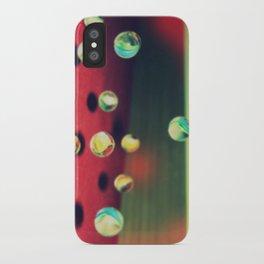 Retro Marbles iPhone Case