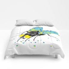 Geosafari   Fly (White) Comforters