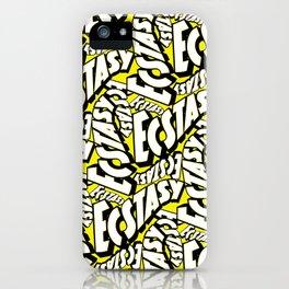 Feel - Bee - XTC Pattern iPhone Case