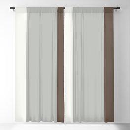Benjamin Moore 2019 Color of Year Metropolitan, Mustang Brown, & Snowfall White Vertical Stripes Blackout Curtain