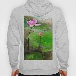 Lotus In The Pond Hoody