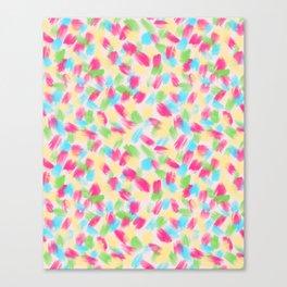 01 Loose Confetti Canvas Print