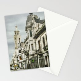 Montevideo Historic Center Cityscape Stationery Cards
