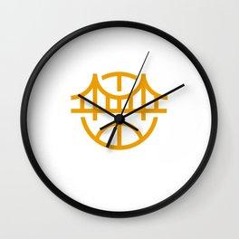 Golden State Basketball Wall Clock