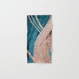 Dark Grace [1]: an abstract watercolor by Alyssa Hamilton Art Hand & Bath Towel