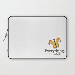 WISE BUTTERFLY Laptop Sleeve