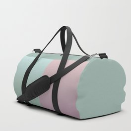 Turquoise and pink Ombre Duffle Bag