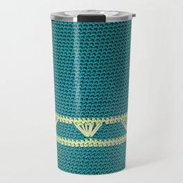 Crocheted Spring Travel Mug