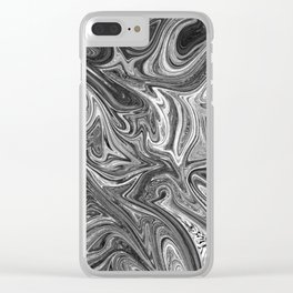 The inside of my brain Clear iPhone Case