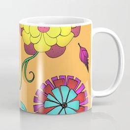 Crazy Daisy vitamin C pattern Coffee Mug