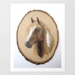 Horse - Freedom to Travel Art Print