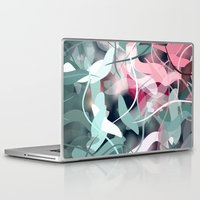 novelty Laptop & iPad Skins featuring Spring Birds by Moody Muse