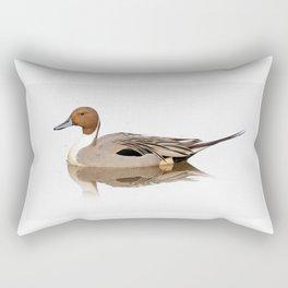 Reflections of a Northern Pintail Duck Rectangular Pillow
