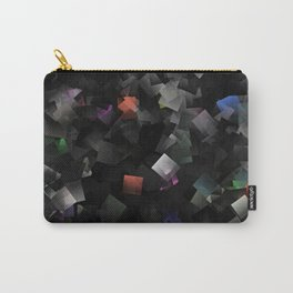 raw abstract Carry-All Pouch
