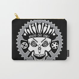 Mountian Biker Mud or Die! Carry-All Pouch