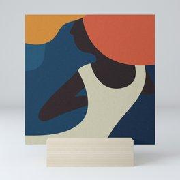 The Dancing Woman Mini Art Print