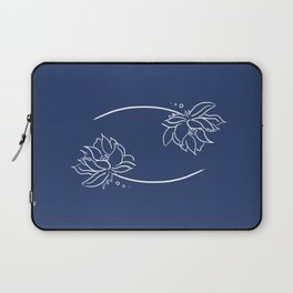 Cancer's Water Lilies Laptop Sleeve