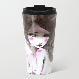 watercolor I Metal Travel Mug
