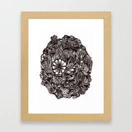 Henna Design 4 Framed Art Print