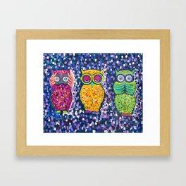 Lala, Iman & Hana Framed Art Print