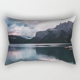 Lake Minnewanka Rectangular Pillow