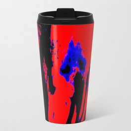 art abstract design Travel Mug