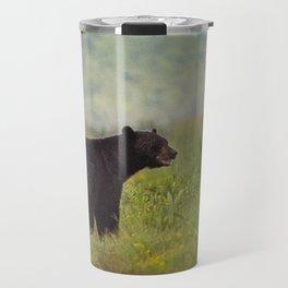 Adult Black Bear Travel Mug