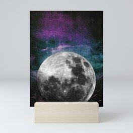 MOON under MAGIC SKY VI Mini Art Print