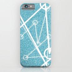 Undulate - whale edition iPhone 6s Slim Case