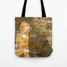 Dissonant Daphne and the Anechoic Star Tote Bag