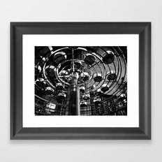 Candle Wick  Framed Art Print