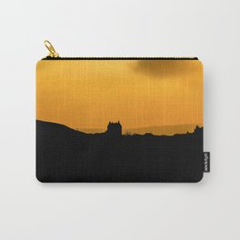 Sundown at White Edge Lodge Carry-All Pouch