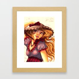 Pinks and Purples Framed Art Print